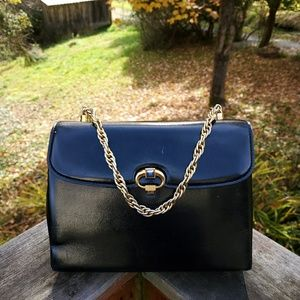 GUCCI💙AUTHENTIC RARE VINTAGE GEM SATCHEL